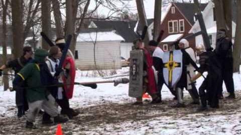 Teutonic Knights of Dagorhir Winter Crusade II