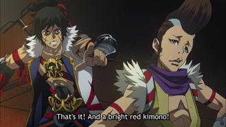 Hyakusuke and keiichiro