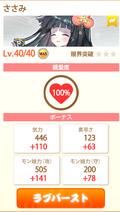 Sasamiilevel40 100