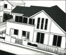 Motoharu's house