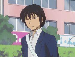 Motoharu with his bangs down