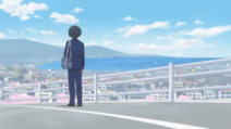 Tadakuni and the scenery