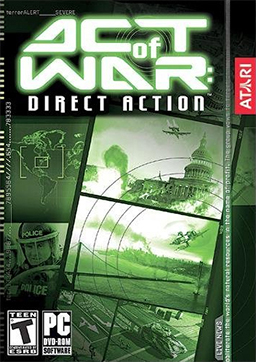 Act of War - Direct Action Coverart