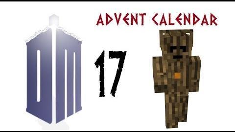 Dalek Mod Advent Calendar DAY 17 - Wooden Cyberman