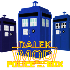 Exteriors from the Model Pack - Police Box