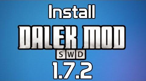 How to install The Dalek Mod - SWD Team.2)