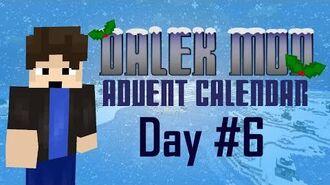 Dalek Mod Christmas Advent 6 - Weeping Snowangels