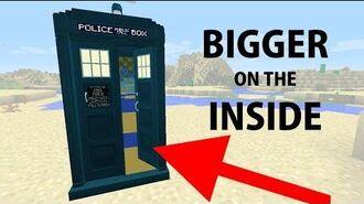 Dalek Mod Update 51 - Bigger on the Inside TARDIS Minecraft