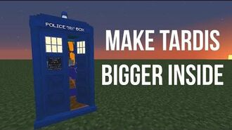 How to get Bigger on the Inside TARDIS in Minecraft Dalek Mod