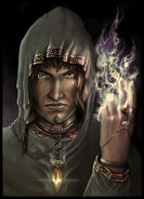 Angry Mage by picster