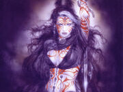 Luis royo red tat girl