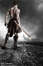 The warrior by nuhuup
