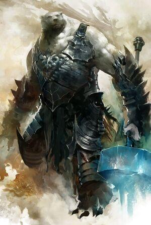 Isgrimnir in Warform