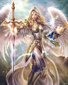 Domi as angel