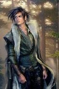 Half elf druid