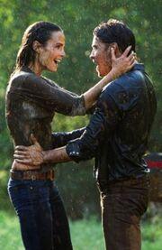 Elena and John Ross strike oil