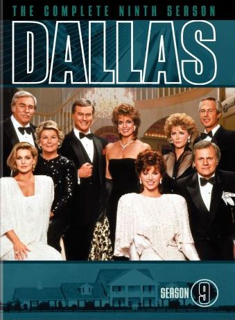 Dvd Cover For Season 9 Of The Cbs Tv Series Dallas