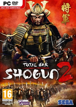 Shogun 2 Total War box art