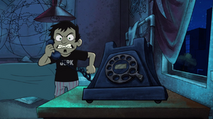 Dan is angry - the telemarketer