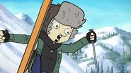 Dan vs the ski trip