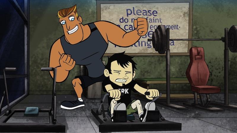 The Gym Episode Dan Vs Wiki Fandom Powered By Wikia