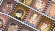 Dan vs the high school reunion - yearbook photo