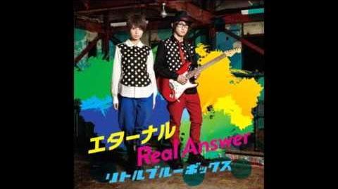 Little Blue boX - Real Answer (Danball Senki Wars 3DS OP ダンボール戦機ウォーズ 3DS OP) (Full)
