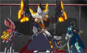 Elysion.Triton& Minerva vs Killer Droid