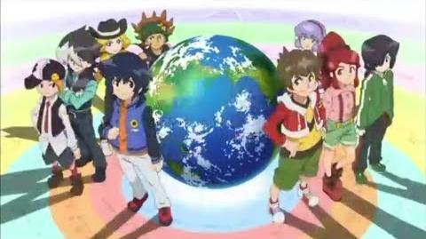 Dream5「地球の絆」(ダンボール戦機W ver