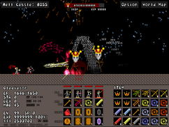 Crown effect on bosses