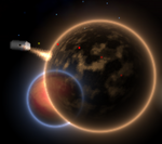 Overlapping planets