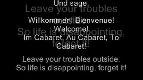 Wilkommen - Cabaret the Movie