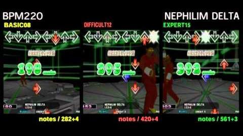 DDR X3 NEPHILIM DELTA - DOUBLE