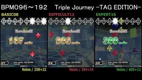 DanceDanceRevolution Triple Journey -TAG EDITION- - DOUBLE