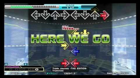 DDR 2013 Triple Journey -TAG EDITION- - Triumvirate (New Single & Double Challenge)