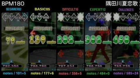 DDR X3 隅田川夏恋歌 - SINGLE