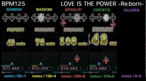 DDR X3 LOVE IS THE POWER -Re born- - SINGLE