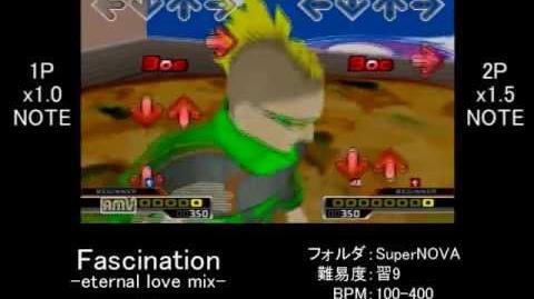 【DDR譜面確認】 Fascination -eternal love mix- SP-BEGINNER Lv