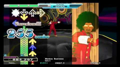 DDR2013 Monkey Business (New Single & Double Challenge)