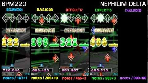 DDR X3 NEPHILIM DELTA - SINGLE