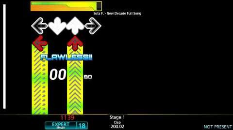 StepMania New Decade -Long Version- (Challenge) Chart View LV 18