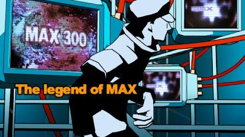 Dance Dance Revolution-The legend of MAX background video