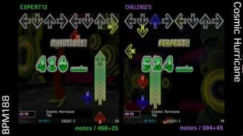 DDR X3 Cosmic Hurricane - DOUBLE HIGH