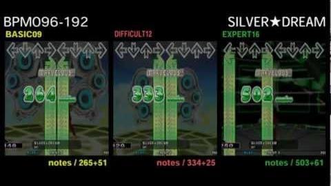 DDR X3 SILVER☆DREAM - DOUBLE
