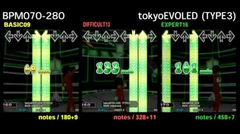 DDR X3 tokyoEVOLVED (TYPE3) - DOUBLE