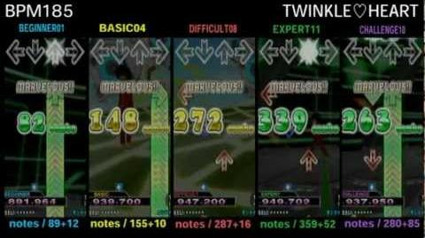 DDR X3 TWINKLE♡HEART - SINGLE