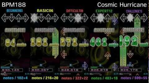 DDR X3 Cosmic Hurricane - SINGLE