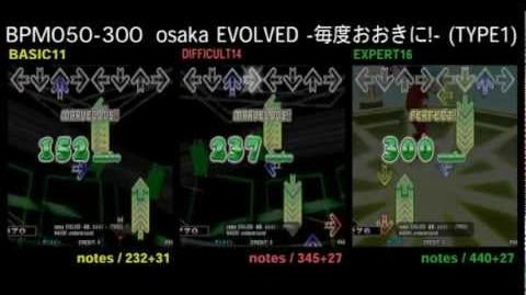 DDR X3 osaka EVOLVED -毎度おおきに!- (TYPE1) - DOUBLE