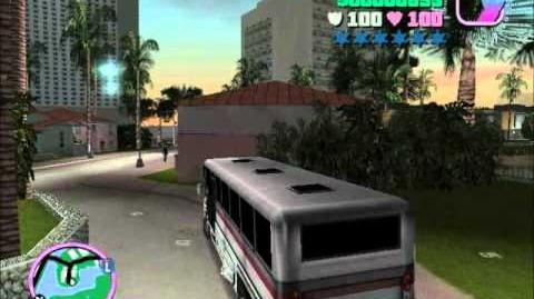 Vice City Ladies follow my player into bus