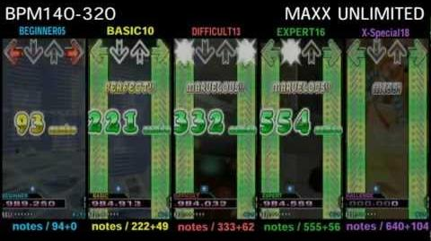 DDR MAX2 MAXX UNLIMITED - SINGLE